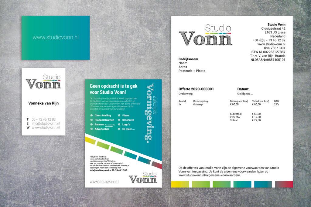 potentiële klanten voor huisstijl ontwerp aantrekken zakelijke vormgeving