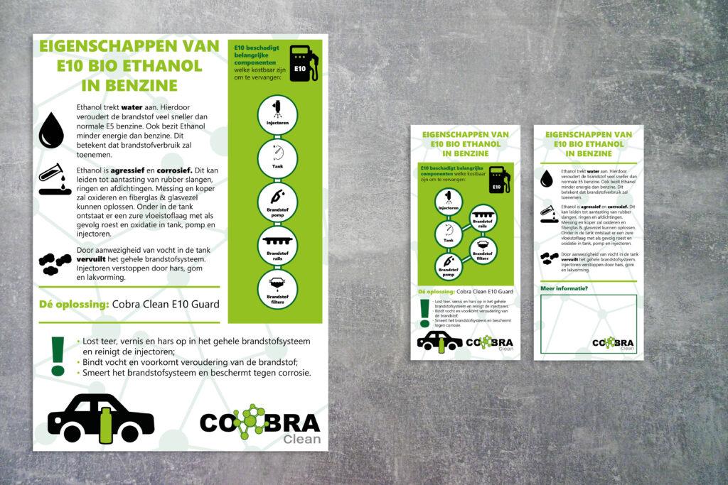 potentiële klanten voor posters en flyers aantrekken zakelijke vormgeving